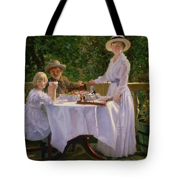 Summer Afternoon Tea Tote Bag by Thomas Barrett