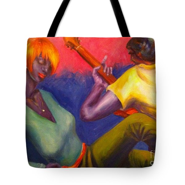 Sunset Serenade Tote Bag