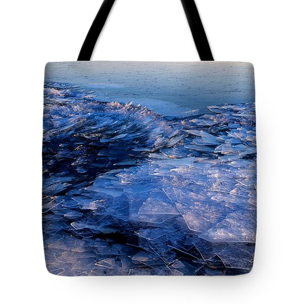 Superior Winter   Tote Bag