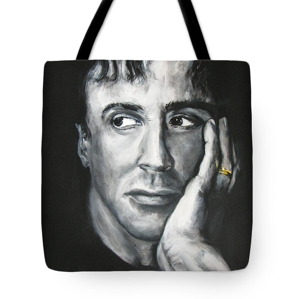 Sylvester Stallone Tote Bag