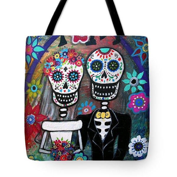 Te Amo Wedding Dia De Los Muertos Tote Bag