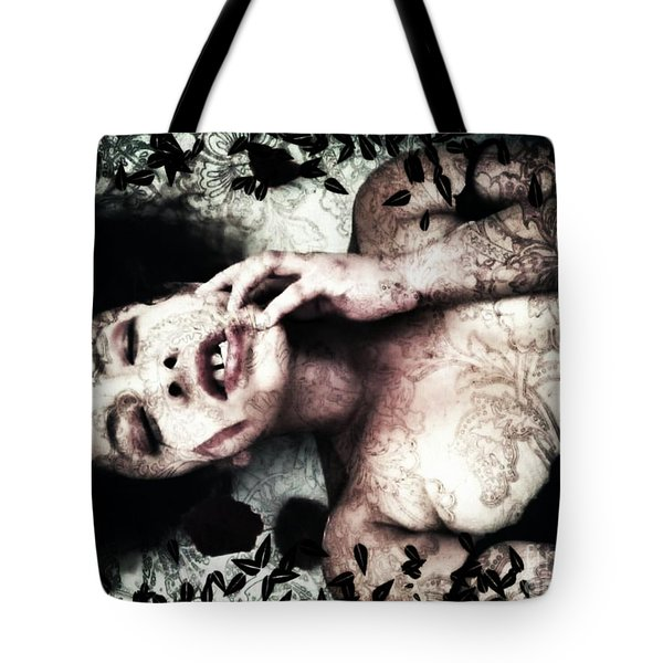 Tempt Me  Tote Bag by Jessica Shelton