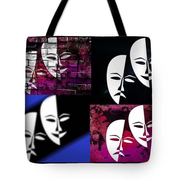Thalia And Melpomene Tote Bag