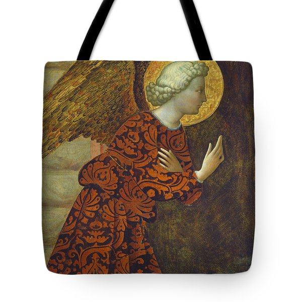 The Archangel Gabriel Tote Bag by Tommaso Masolino da Panicale