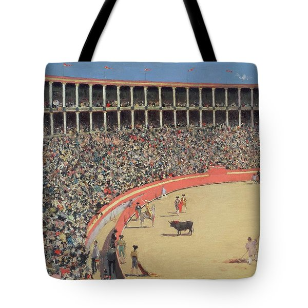 The Bullfight Tote Bag by Ramon Casas i Carbo