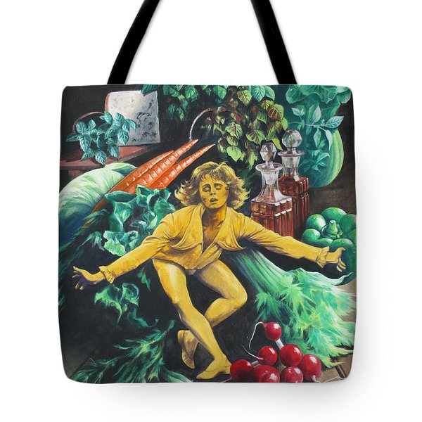 The Dancing Lemon Tote Bag