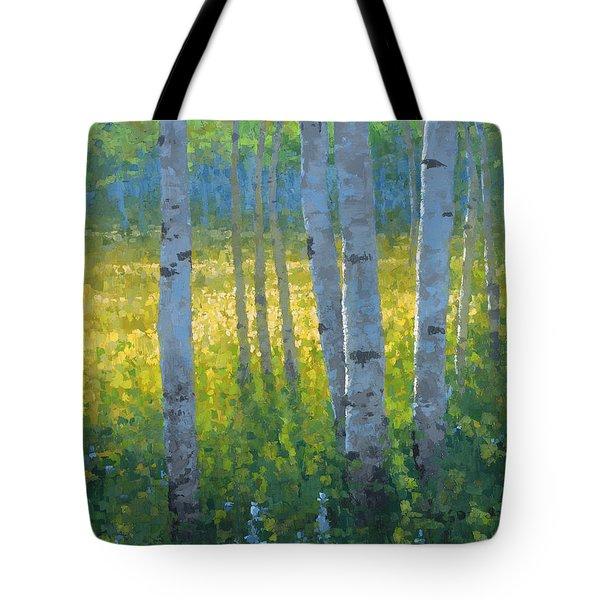 The Dancing Sun Tote Bag