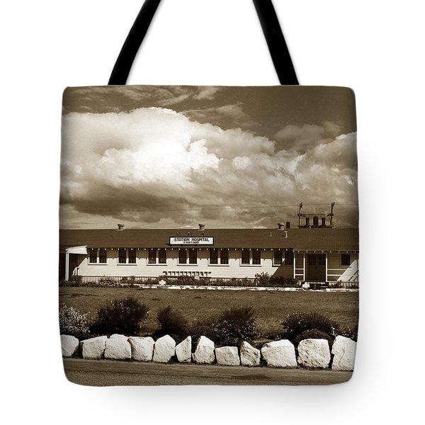 The Fort Ord Station Hospital Administration Building T-3010 Building Fort Ord Army Base Circa 1950 Tote Bag