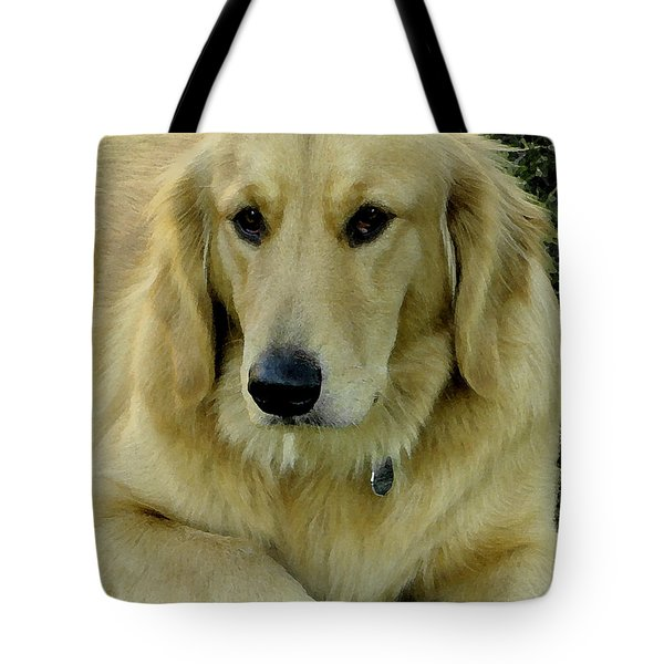 The Golden Retriever Tote Bag