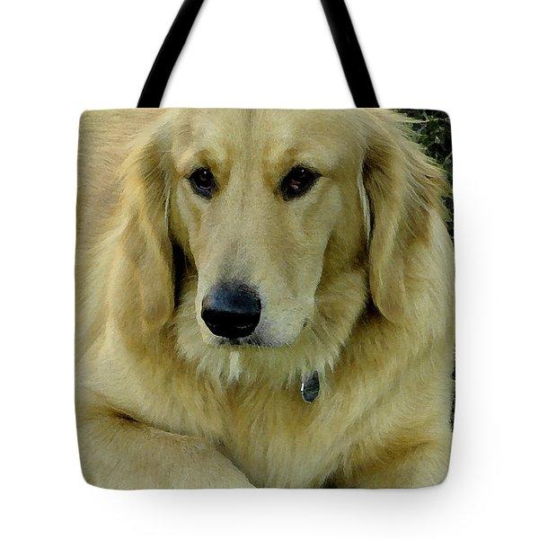 The Golden Retriever Tote Bag by James C Thomas