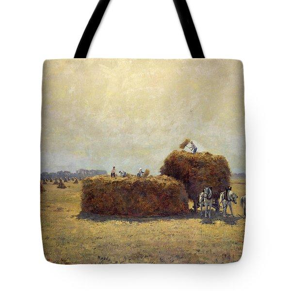 The Harvest Tote Bag by Pierre-Georges Dieterle
