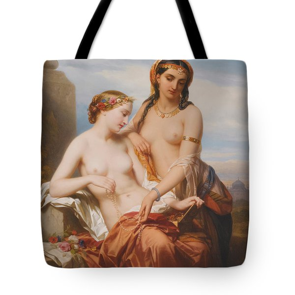 The Orient And The Occident Tote Bag