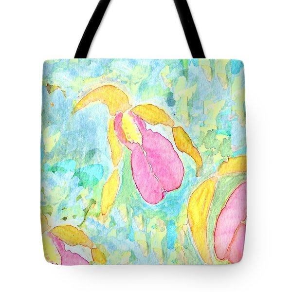Three Pink Ladies  Tote Bag