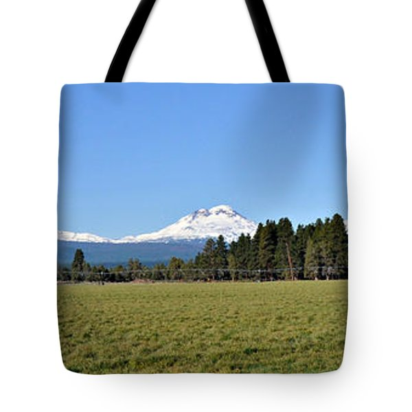 Three Sisters In Oregon Tote Bag