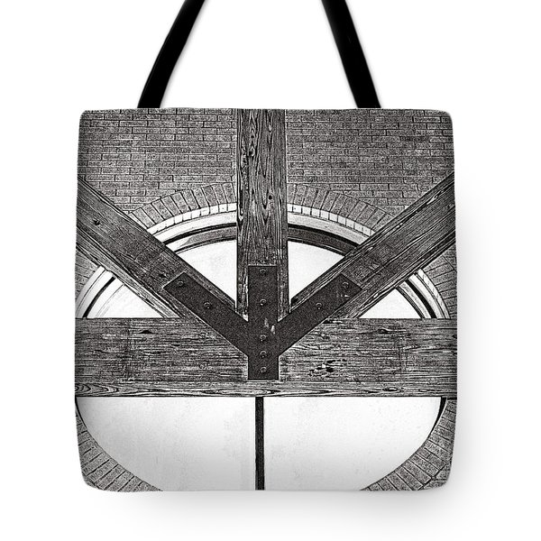 Trinity Series 1 Tote Bag by Luther Fine Art