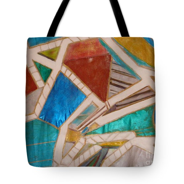 Tote Bag featuring the painting  Tuscany  Sienna  by Fereshteh Stoecklein