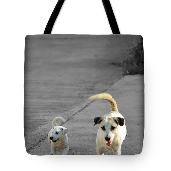 Two Of A Kind Tote Bag by Michelle Meenawong