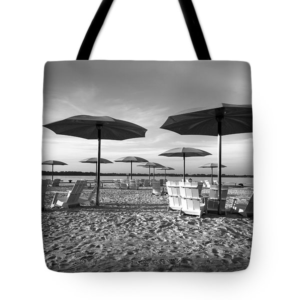 Umbrellas On The Beach Tote Bag