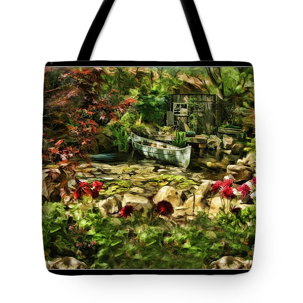 Uncle Toms Cabin  Tote Bag by Blake Richards