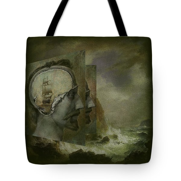 When A Man's Thoughts Turn Toward The Sea Tote Bag