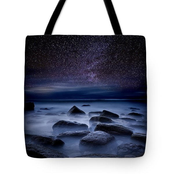 Where Dreams Begin Tote Bag