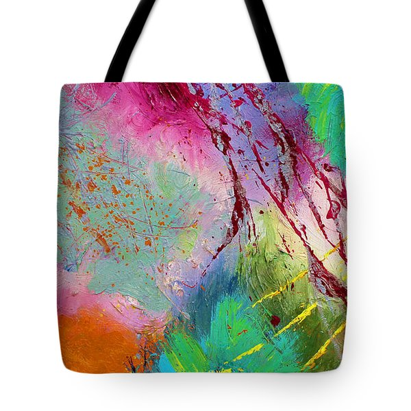 Modern Abstract Diptych Part 1 Tote Bag