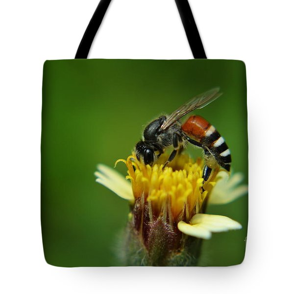 Working Bee Tote Bag by Michelle Meenawong