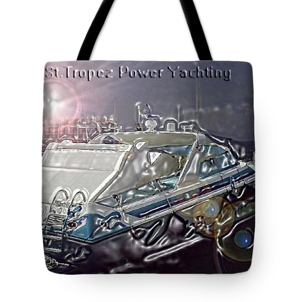 Yacht Art Tote Bag