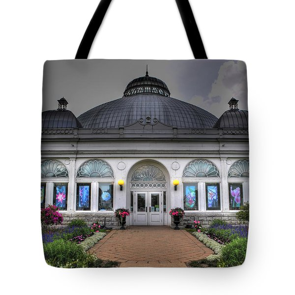 001 Buffal And Erie County Botanical Gardens Tote Bag