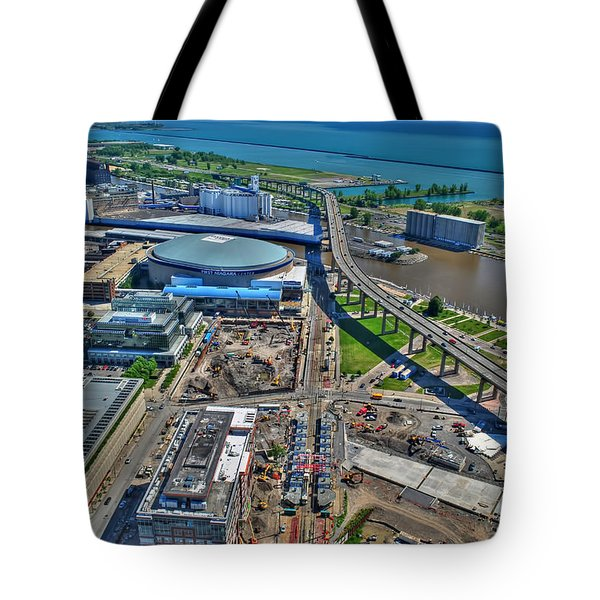 001 Visual Highs Of The Queen City Tote Bag
