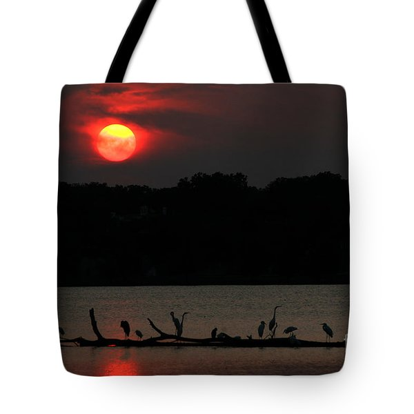 0016 White Rock Lake Dallas Texas Tote Bag