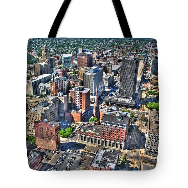 0017 Visual Highs Of The Queen City Tote Bag