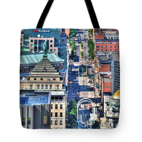 0024 Visual Highs Of The Queen City ...main St... Tote Bag