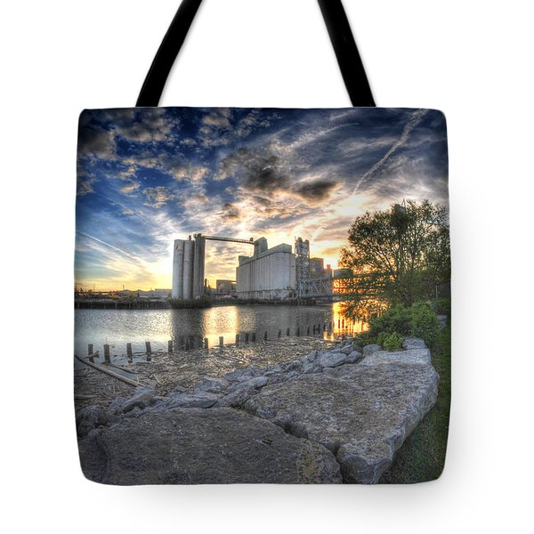 003 General Mills At Sunset Tote Bag