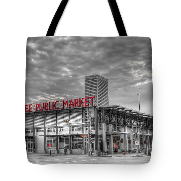 0038 Milwaukee Public Market Tote Bag