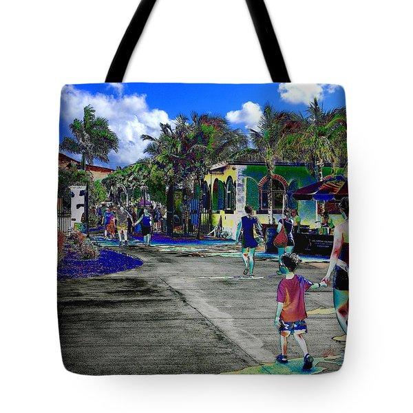 St Croix Stencil  Tote Bag