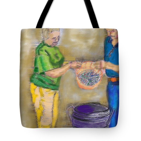 01252015 Boiling Louisiana Blue Crabs Tote Bag