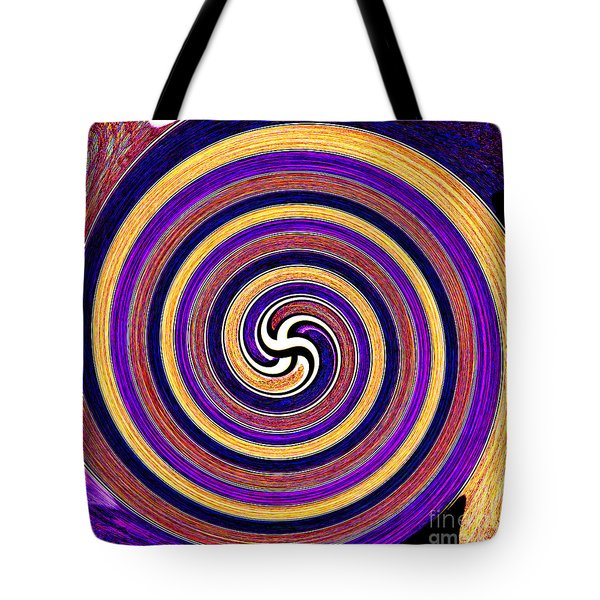 0175 Abstract Thought Tote Bag by Chowdary V Arikatla