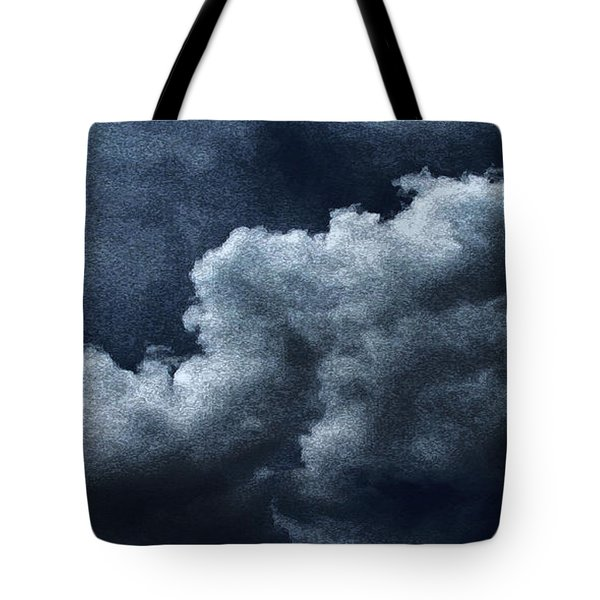 02152015 Water Color Storm Brewing Tote Bag