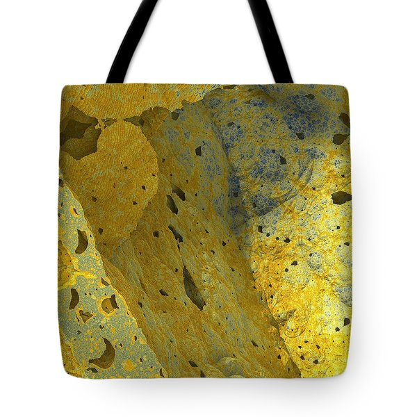 The Linear Dimension Tote Bag