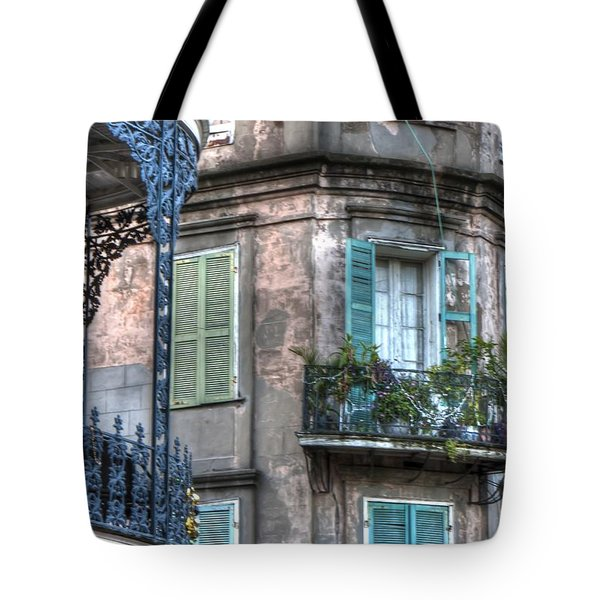 0254 French Quarter 10 - New Orleans Tote Bag by Steve Sturgill