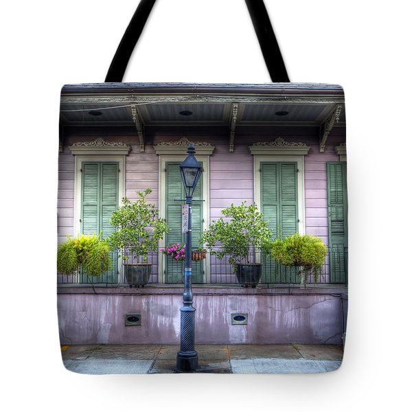 0267 French Quarter 5 - New Orleans Tote Bag