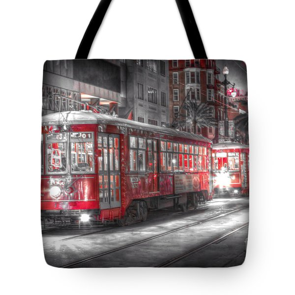 0271 Canal Street Trolley - New Orleans Tote Bag