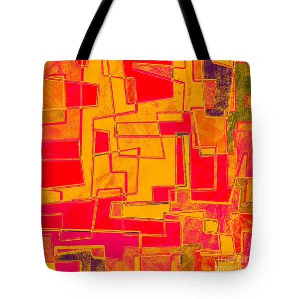 0275 Abstract Thought Tote Bag by Chowdary V Arikatla