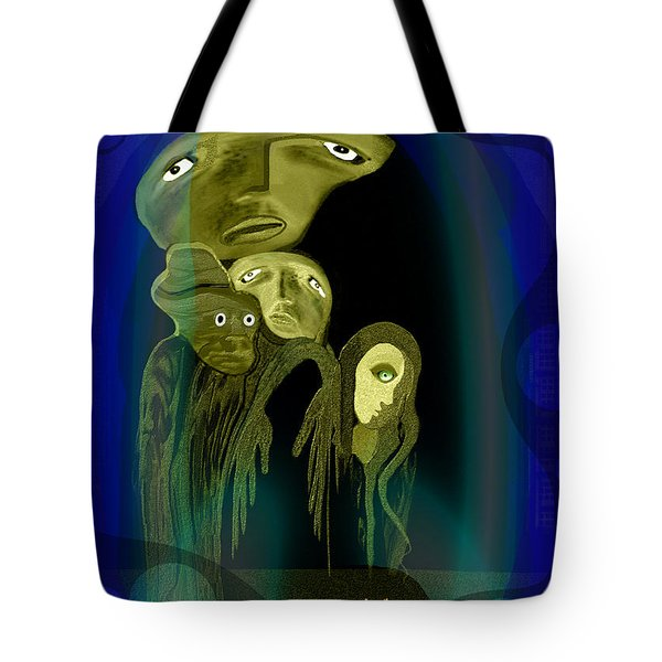 028 -  The  Arrival Of The Gods  Tote Bag