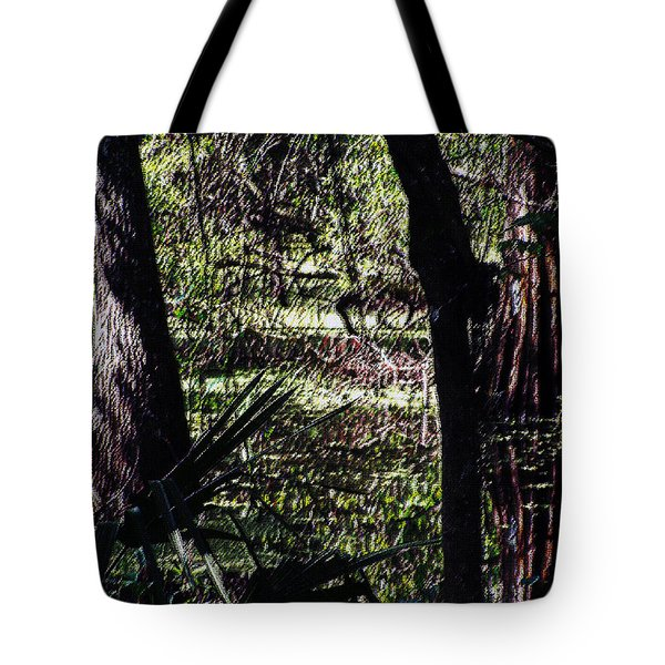 03032015 Southern Marsh Digital Pastel Tote Bag