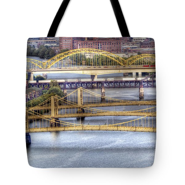 0307 Pittsburgh 8 Tote Bag by Steve Sturgill