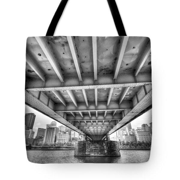 0308 Pittsburgh 5 Tote Bag by Steve Sturgill