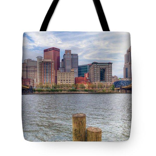 0311 Pittsburgh 1 Tote Bag by Steve Sturgill