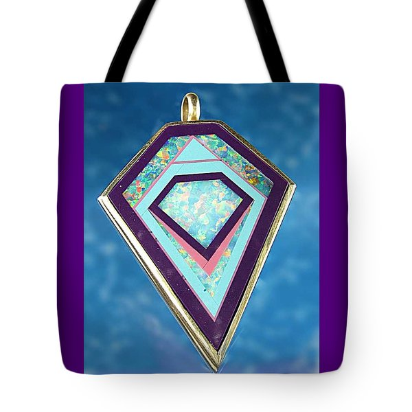 0332 Portal To The Pyramids Tote Bag